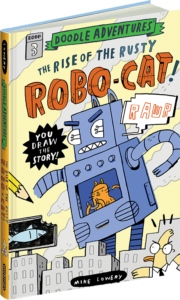 """The Rise of the Rusty Robo-Cat"""